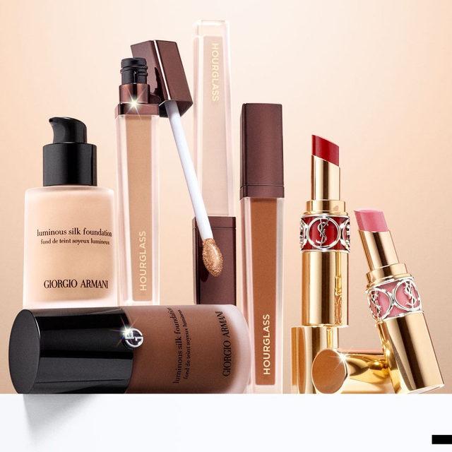 Foundation: @armanibeauty ✨ Concealer: @hourglasscosmetics 😎 Lip: @yslbeauty 💋 Vibe: low-key fancy.