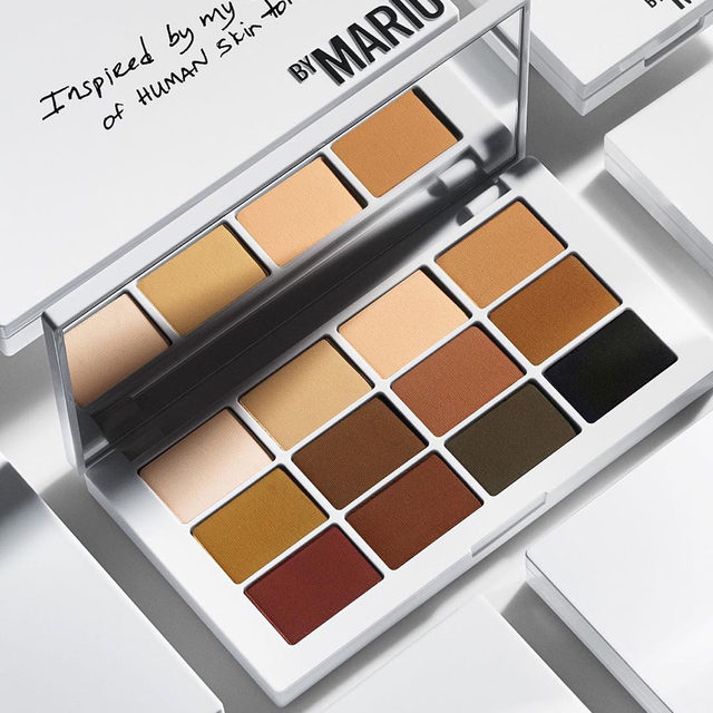 From our friend @makeupbymario: Master Mattes: This is my DREAM palette of matte shadows. It is truly timeless and universal. The shades are inspired by human skin tones and the shadows are smooth, luxurious and super blendable. Available only at Sephora. 
