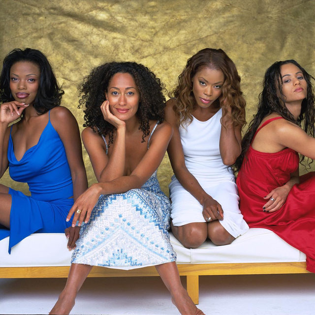 """I wanted Black women to feel seen. I was tired of us playing in the background,"" says #Girlfriends creator Mara Brock Akil. 20 years after its debut, a new flock of viewers are discovering the beloved series on Netflix. Link in bio to read what she wants people to know about the show's legacy."