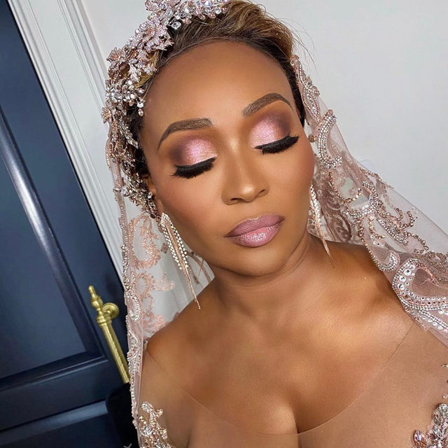 Cynthia Bailey's makeup artist themuaalex gives us a close up look at her breathtaking wedding day glam 😍  For more details on her big day, head over to essence.com 📷: themuaalex