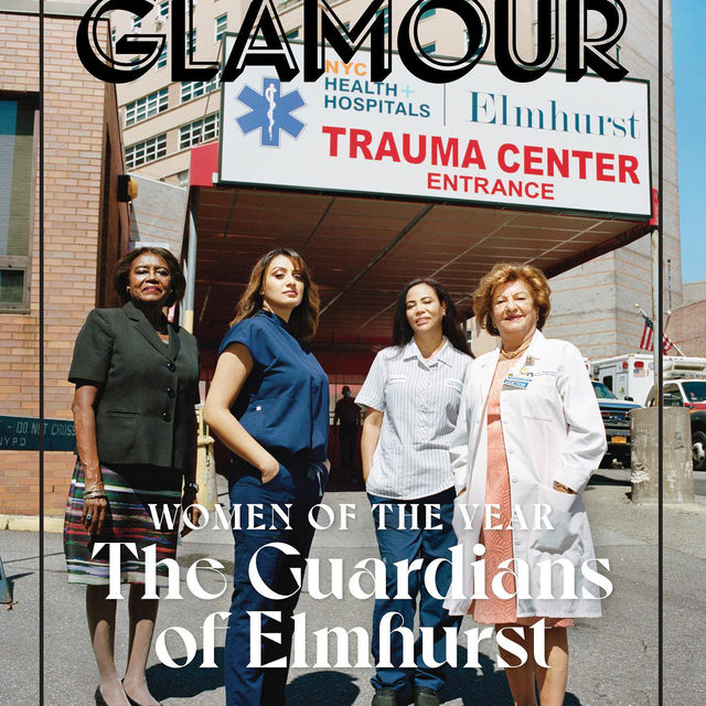 """We tried to be good people. To be more close to each other. To try to work together. So many, many of us changed. We are different."" These are the guardians of Elmhurst hospital. As COVID-19 spread across the United States, one hospital in New York found itself in the epicenter of the epicenter. With the virus on a warpath, its staff risked it all in the fight for our lives. Link in bio to read more about these Glamour Women of the Year. #GlamourWOTY   Writer: @matkahn  Photographer: @sheekswinsalways  Hair & Makeup: @michaelnycity, @ronniepeter"