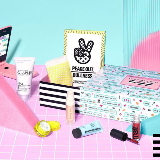 Just arrived! 🤩 Get the newest Sephora Favorites POP set and sample six hyper-trendy brands like @rarebeauty by Selena Gomez, @olaplex, and more for only $15 🔥 But hurry, these boxes are going fast 💫