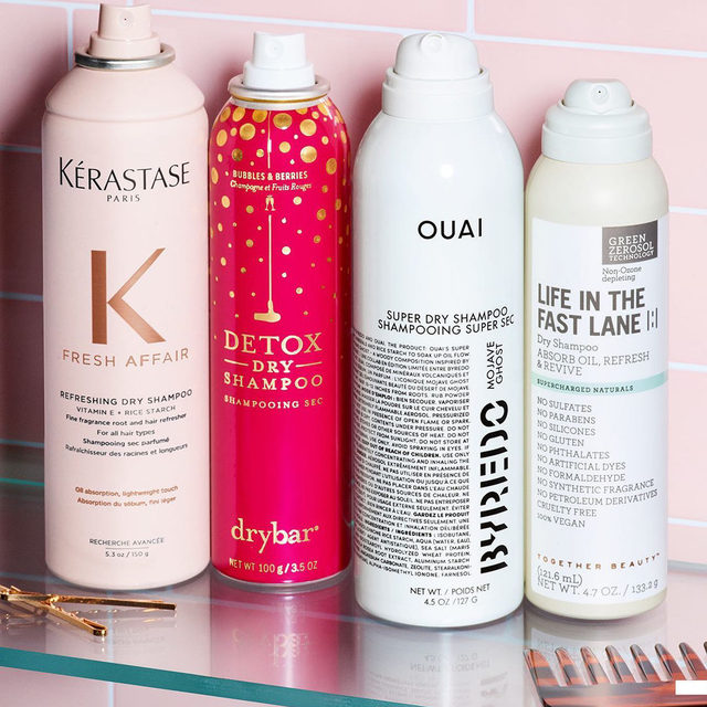 ✨ Dry shampoo appreciation post ✨ They revive hair, absorb oil, and leave you with a refreshing scent. What's not to love? Which of these new picks is your fave? . . .  @kerastase_official Fresh Affair Refreshing Fine Fragrance Dry Shampoo @thedrybar Berries & Bubbles Detox Dry Shampoo @theouai OUAI x BYREDO Super Dry Shampoo Mojave Ghost @wearetogetherbeauty Life in the Fast Lane Dry Shampoo