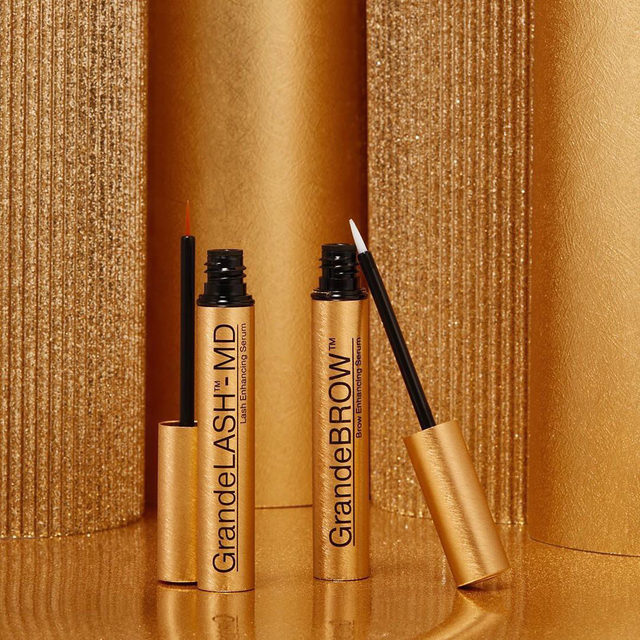 From our friends at @grandecosmetics: Go for the gold! Achieve your lash & brow goals with this award-winning enhancing duo. Available together in our limited edition 'Liquid Gold' holiday set 🌟  Available at Sephora.