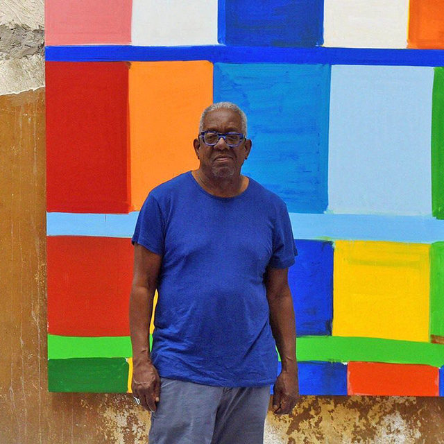 Today at 2pm EDT, tune in for a conversation between Stanley Whitney and author Matthew Jeffrey Abrams. In the context of Whitney's current exhibition of recent paintings, on view at Gagosian, Rome, through October 17, the pair will discuss Abram's new monograph on the artist and the diverse formative influences on the artist's imagination. Follow the link in our bio to register. _________ #StanleyWhitney #Gagosian @stanley.whitney Stanley Whitney. Photo: EFE/Alamy