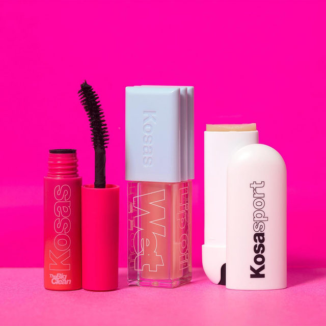 Nurture, treat, and boost lips and lashes with @kosas Keep It Clean Set❣️ This new, limited-edition kit has all of your clean-beauty faves, including full sizes of the hydrating Wet Lip Oil Gloss 💋 and Kosasport LipFuel Hyaluronic Lip Balm 💋 You'll also get a mini size of The Big Clean Volumizing + Lash Care Mascara to try 〰 Score this amazing deal for only $35! Only at Sephora.