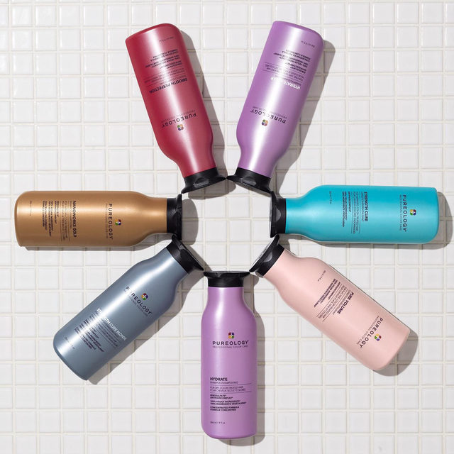 A word from @pureology:  On the Hunt for the perfect shampoo and conditioner for your haircare needs...  L👀K no further. See. Smell. Touch. Decadent textures, captivating fragrances, rich and creamy lather.  ✅COLOR CARE LIKE NO OTHER ANTIFADE COMPLEX® Our patented ingredient blend is infused into every formula to protect color vibrancy and ensure lasting color payoff.  ✅ZEROSULFATE® Our exclusive formulas gently cleanse without stripping color  ✅100% VEGAN FORMULAS Every formula is made without animal products or by-products. Pureology never tests on animals.  ✅CONCENTRATED FORMULAS Our highly concentrated shampoos boast 70+ applications in a single bottle.  ✅DUAL-BENEFIT FORMULAS FOR ALL HAIR TYPES Our dual-benefit formulas provide color protection and customized care to address individual hair needs.