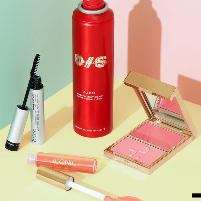 These hot picks from super-cool brands have something for everyone: a waterproof mascara with tube tech for extra hold, a makeup-dissolving mist, a compact of complementary blush shades, and an innovative and ultra-nurturing lip oil 🤩Which is on your must-try list? . . .  @blincinc Blinc Mascara @onesize GO OFF Makeup Dissolving Mist @patricktabeauty Major Beauty Headlines—Double-Take Crème & Powder Blush @iconic.london Lustre Lip Oil