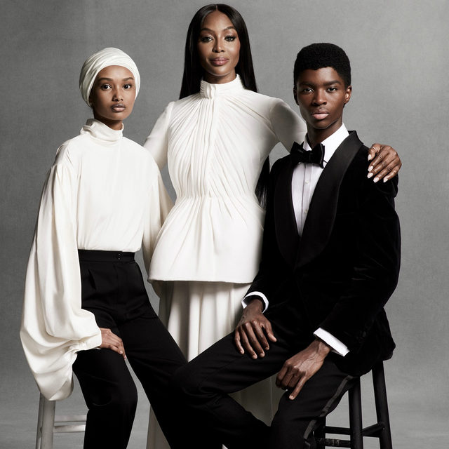 """To see @Naomi with her mother and aunts is to place her in what feels like the proper context. Campbell was raised communally, surrounded by a clear narrative about the power of women and by examples of unapologetic—and dramatically beautiful—Blackness.  @Naomi's community of Black women helps explain the attitude she has taken toward a younger generation of models, and the mentoring role that has made her a kind of surrogate mother to many in her industry.  """"Modeling can be a scary world, and getting support from anyone, let alone the trailblazers, means everything,"""" says @iamugbad (pictured above). """"Ms. Naomi has taken so many models under her wing. I wouldn't be here if it wasn't for her being who she is unapologetically. She is the blueprint.""""  Tap the link in our bio to read the full profile. Photographed by @ethanjamesgreen, styled by @mr_carlos_nazario, written by @afuahirsch, Vogue, November 2020."""
