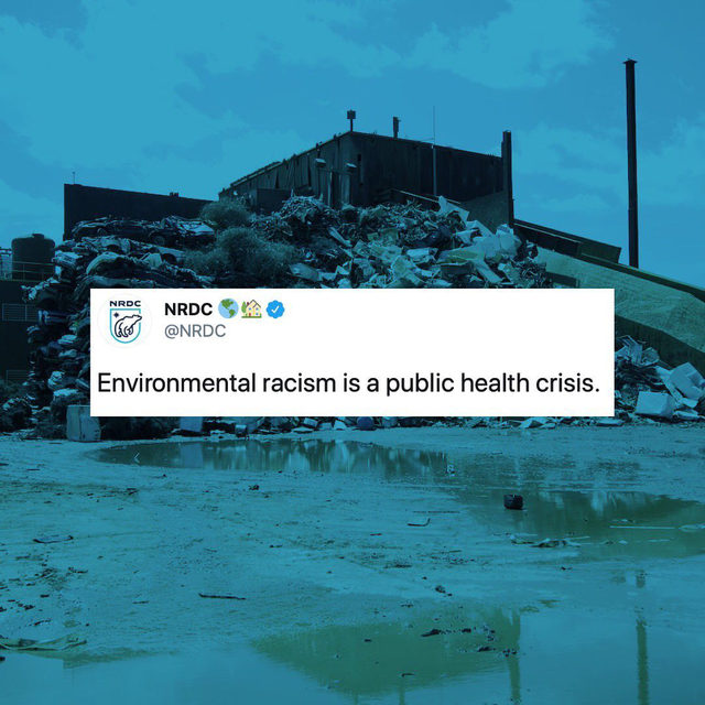 For years, Chicago's Southeast Side has endured decades of environmental injustice & health hazards, writes the @chicagotribune. Now, their editorial board joins BIPOC residents in the movement to #StopGeneralIron — a dangerous polluter — and call out environmental racism.    This year alone, the City of Chicago ticketed General Iron 11x for untreated emissions while it lives in a white and affluent community. The City approved its move to the Southeast Side of Chicago, a working class community of color that already faces multiple environmental burdens and inequities.    In cities like the Southeast Side, industrial facilities, sites contaminated by legacy sources of pollution, and major transportation arteries are located right up next to communities that are predominantly communities of color and lower income. Decades of scientific research have laid out the evidence for the public health impacts of environmental racism. That includes adult and childhood cancers, diabetes, obesity, neurological conditions,