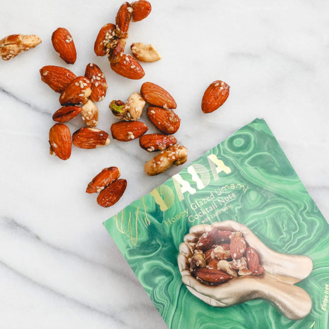 It's no surprise that we're huge snackers over here! We're always looking for ways to up our game and that's where DADA comes in. When we say that we're obsessed with their cocktail nuts, we're talking downing a bag a day obsessed. Check out our stories to see what all the hype is about!