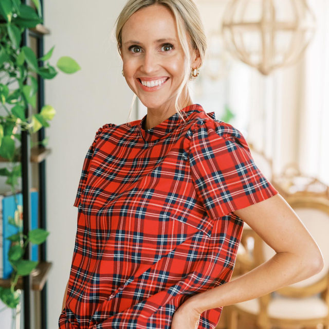 Introducing the Plaid Shop — your one-stop source for the season's most festive prints, just launched at draperjames.com ❤️🌲
