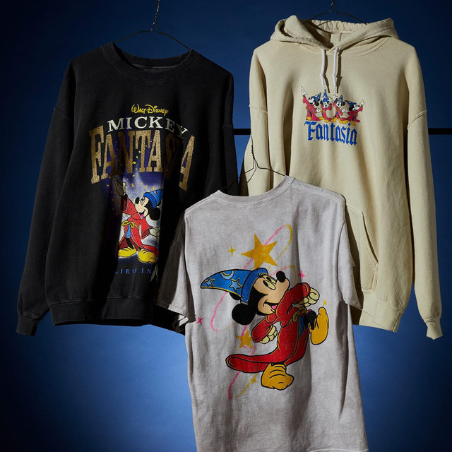 After 80 years, it's more magical than ever: Celebrate the anniversary of @Disney's iconic Fantasia with this exclusive collection available online now at UO. @mickeytrueoriginal