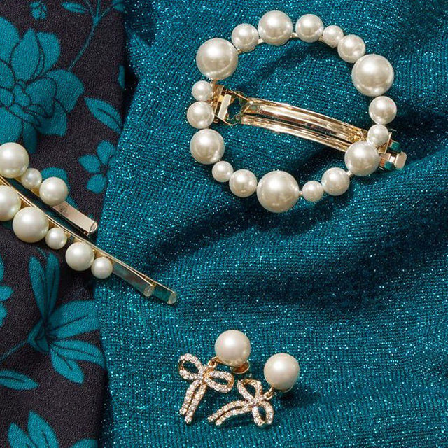 Classic pearls, with a twist ✨