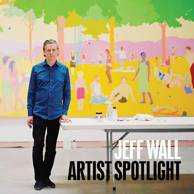 #GagosianSpotlight: This week, Jeff Wall features in Artist Spotlight. From his pioneering use of backlit color transparencies in the 1970s to his intricately staged scenes of enigmatic incidents from daily life, literature, and film, Wall has expanded the definition of the photograph, both as object and as illusion. His pictures range from classical reportage and the direct contemplation of natural forms to elaborate constructions and montages, usually produced at a large scale traditionally identified with painting.  A new work by the artist will be unveiled on gagosian.com on Friday, November 20, at 6am EST. For updates or to learn more, follow the link in our bio. __________ #JeffWall  #Gagosian Photo: Andrew Querner