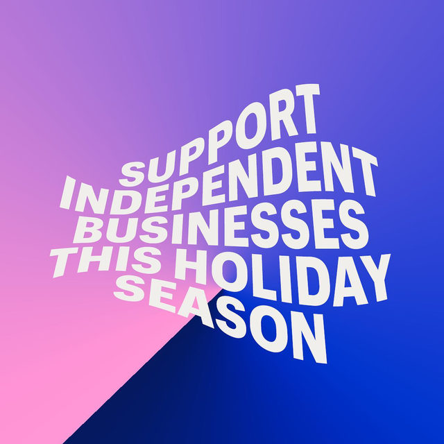 Share this on your Story and spread the word. Let's show independent businesses everywhere some love this Holiday Shopping Season.   P.S. link in bio for some ideas to get started 💙 . . #blackfriday #bfcm #cybermonday #holidayshopping #holidayseason #giftideas #giftguide