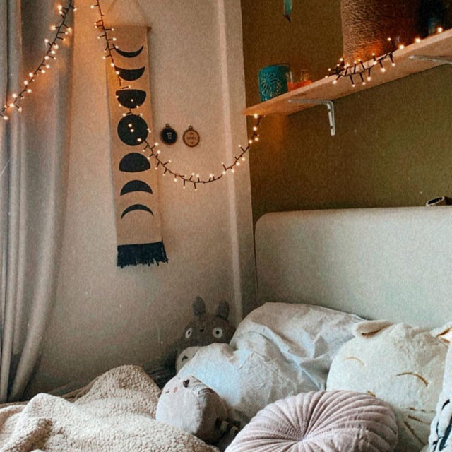 Nothing cozier than this, @inkedcrybaby. #UOHome