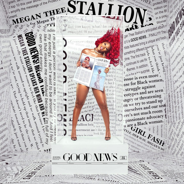 Amid a pandemic, and while recovering from a gunshot wound, superstar rapper Megan @TheeStallion has made an album that purposefully celebrates life. Her beats are playful, and her rapping is as sharp as ever. Read our review of Good News at the link in our bio.  #GoodNews #MeganTheeStallion #Rap #NewMusic