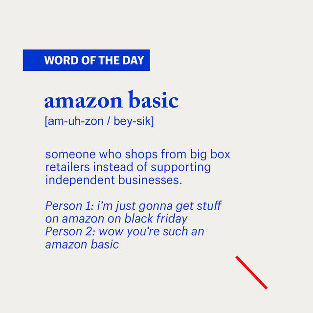 You heard it here first 👀. Don't be an amazon basic this year. #GiftBetter with the link in bio.  . . #BlackFriday #holidayshopping #giftbetter