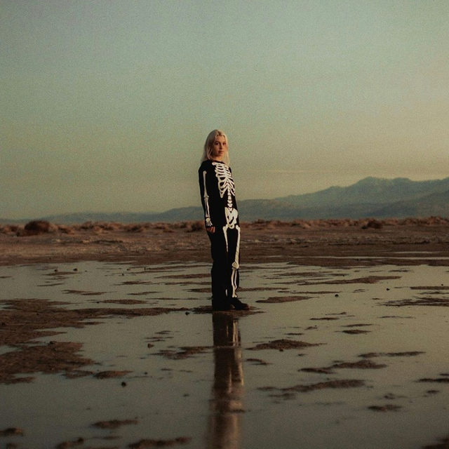 Phoebe Bridgers' (@_fake_nudes_) new EP Copycat Killer reimagines four tracks from her recent album Punisher with devastating orchestral arrangements that bring her voice into dramatic focus. Listening to these four songs all at once feels like waking up from an evening nap or entering a movie theater in daylight and leaving in the dark. You're nourished but also disoriented, limbs tingling as they recalibrate to the outside world. Read our review at the link in our bio.  #CopycatKiller #PhoebeBridgers #NewMusic #AlbumReview