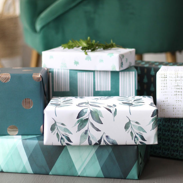 """Today's the day to stock up on all your holiday presents by shopping our Black Friday sale!  Make the gifts look picture-perfect under the tree with beautiful  wrapping paper. Changed your name this year? We have custom gift wrap so you can add your new name, a special picture…or one that will bring lots of laughs.  Head to the #linkinbio to enjoy up to 20% off with code BF2020! Ends tonight!  __ """"Lined Dots"""" and """"Mod Rectangles II"""" designs by #MintedArtist Liz Conley @lizconley """"Painterly Plaid"""" design by #MintedArtist Allison Kincaid of @ak_graphic_design """"Shimmery Jute"""" design by #MintedArtist Kate Ross of @kateross.design """"Noel Branch"""" design by #MintedArtist Afton Harding of @aftonharding """"Zigzag Trees"""" design by #MintedArtist Tishya Oedit of @tishyaoedit"""