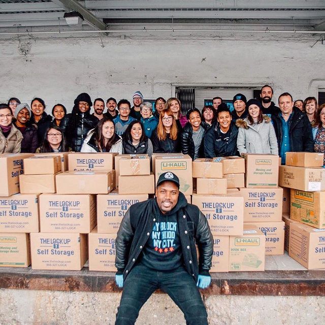 In the spirit of Giving Tuesday, we are highlighting our charitable partners, My Block, My Hood, My City in Chicago, and Café Momentum in Dallas. Because this year, we're all about delivering a little cheer where we can. Help support our efforts by getting your holiday shopping done while supporting some damn good causes!