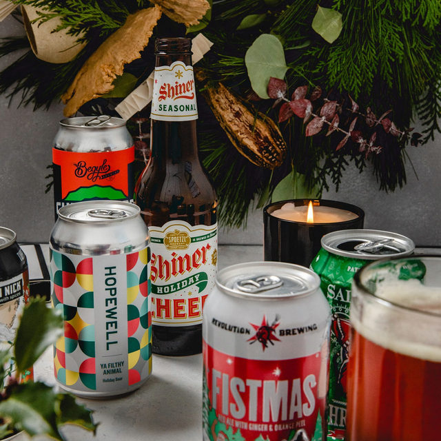 Put your hand up if your favorite part of the season is when all the local holiday beers come out….because same.