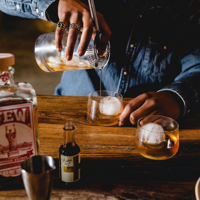 There's just something about an Old Fashioned that makes us feel like we belong in a grand library with a roaring fire and two Irish Setters lounging at our feet as the snow cascades lightly outside the window.  Okay cool, now go gift this feeling to your favorite person.
