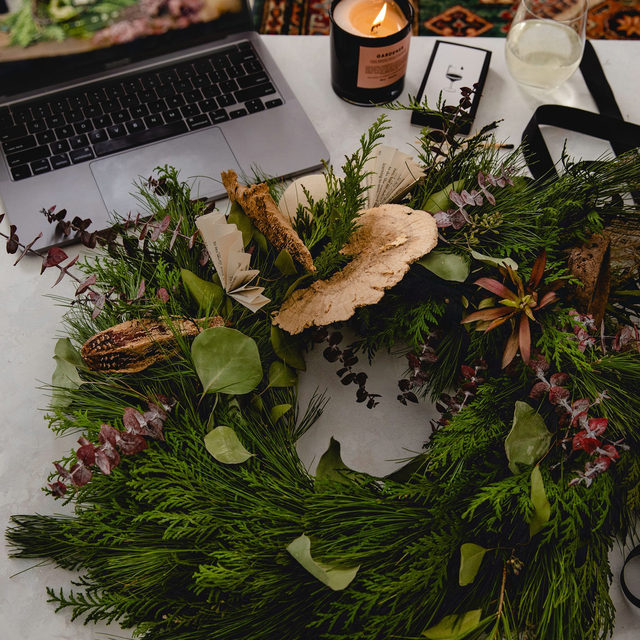 You've baked bread, you've done tie dye, you've grown herbs, but have you made your own wreath yet? We've partnered up with our friends at Flowers for Dreams to bring you a festive wreath making kit complete with a tutorial video just in time for the holidays. Click our link in bio to get your hands on one and make good old Martha proud.