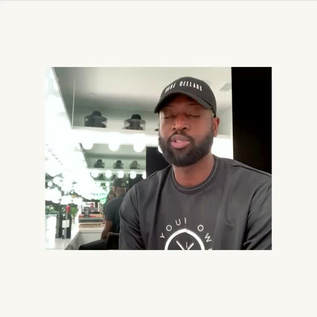 Do you recognize him? Yep, that's NBA All-Star Dwyane Wade. We've partnered up with him to bring you a @dwadecellars wine bundle that directly benefits @socialchangefnd . Volume up to hear our new motto. @dwyanewade