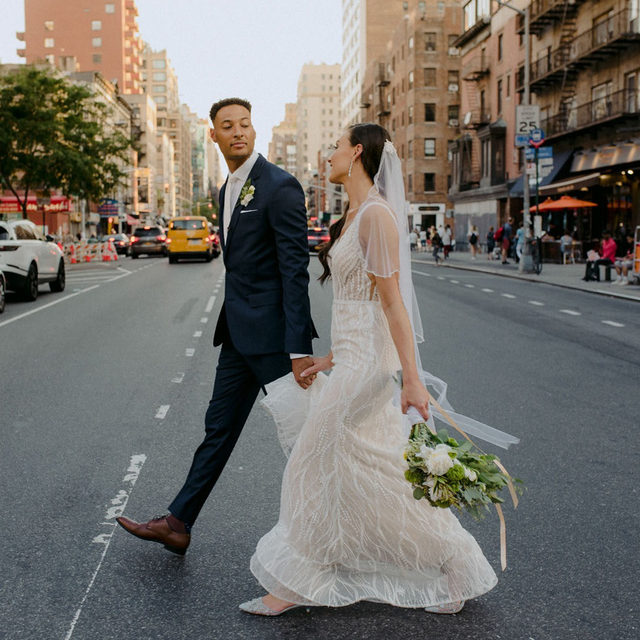 The big day in the big apple! 🌃💍 Our beautiful #BridalReflectionsBride Beth and her husband celebrated their big day in July 2019 at @theainsworth in #NewYorkCity. Click the link in our bio to see their wedding video on our @lovestoriestv page! 👰🤵❤️ ⠀⠀⠀⠀⠀⠀⠀⠀ ・・・ ⠀⠀⠀⠀⠀⠀⠀⠀ 👰🤵 #BridalReflectionsBride @bethfiondarguin & @leclercandre 👗 @callablanchedress #CallaBride from Bridal Reflections 🏰 @theainsworth 📸 @warmup_weddings
