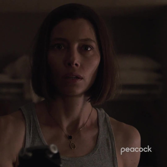 How does a town full of people disappear without a trace? @JessicaBiel stars in Limetown. Link in bio to stream FREE on Peacock.