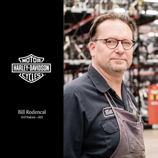 Hit the link in our bio to hear from Bill Rodencal, Lead Museum Collections at the @HDMuseum, in the latest H-D Podcast. #HarleyDavidson #HDMuseum