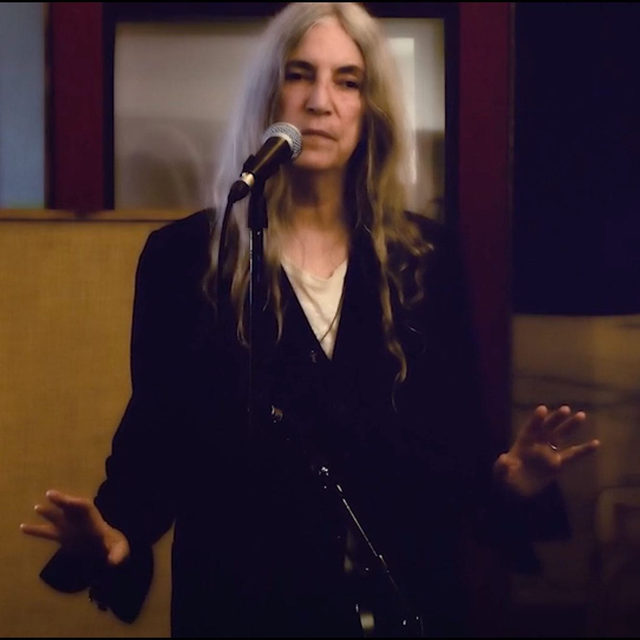 Join us online at 11:45pm GMT for a special New Year's Eve presentation featuring a performance by Patti Smith and her band, and a new video work by Anne Imhof. Follow the link in our bio to set a reminder.   The performance marks the beginning of a month-long installation by Smith. For two minutes every day of January, she will take over London's Piccadilly Lights advertising screen. Combining musical performance with poetry, the installation will also be streamed online daily. The project is presented by digital arts platform Circa, which commissions a different artist each month to present new ideas that consider our world circa 2021. Visit circa.art for more information. __________ #PattiSmith #AnneImhof #Gagosian @circa.art @thisispattismith @anne_imhof