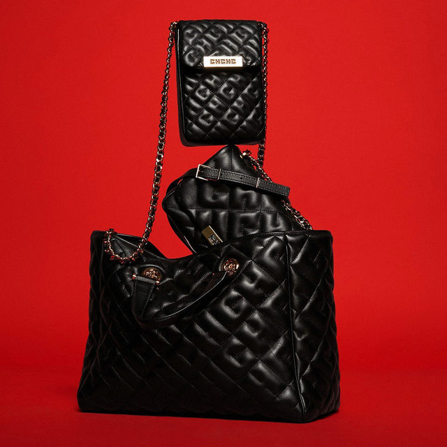 In many shapes and forms. Discover our initials in Soufflé quilt on #CHBimbaBag.