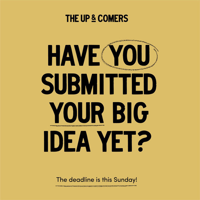 The last day to submit to Up & Comers is Sunday! Don't forget to submit for your chance to win a cash prize, a mentorship, space on our shelves, and much, much more. Click the link in our bio for the submission page and tag your small maker friends below to remind them to apply!