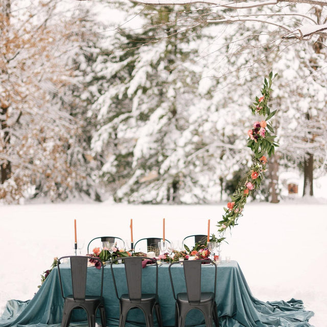 What a dream! 🌨️A wintery wonderland with our #velvetlinen in Arctic 🤍🤍🤍Planning & Design @saraelizabethweddings Florals @lavishfloral Photography @courtneydueppengiesser  ⠀⠀⠀⠀⠀⠀⠀⠀⠀ #latavolalinen #transformyourtable #bbjlt #bettertogetherbbjlt #winterwedding #tablescape #velvettablecloth #bluevelvet #chicagowedding #weddingdesign #eventdesign #weddingdecor #weddinginspo #weddinginspiration #quincyil #quincy