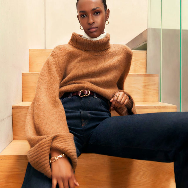 SWEATER WEATHER: Upgrade your closet with chic yet cuddly knitwear that will transform your winter wardrobe.   Tap the link in bio to shop at #NETAPORTER.