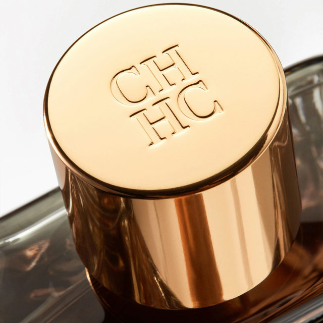 Wrapped in leather and topped in gold, the CH Men bottle captures the classic elegance of the Carolina Herrera man. #CHCarolinaHerrera