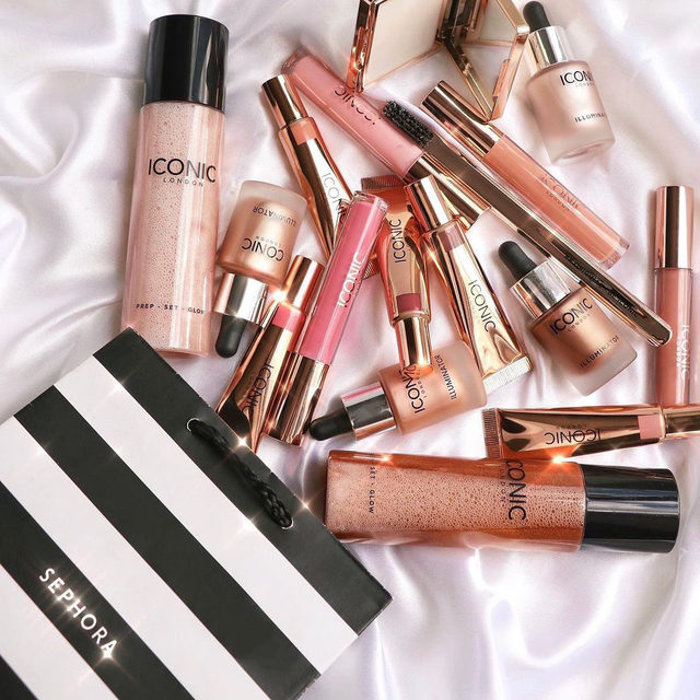 From our friends at @iconic.london: Which ICONIC products are you filling your Sephora bags with?! ✨ Shop our shimmering, sparkling, glistening and glowing best-sellers at Sephora US right now! ⭐️  Iconic London Prep Set Glow Hydrating Spray  Iconic London Illuminator Liquid Highlight  Iconic London Sheer Cream Blush  Iconic London Lustre Lip Oil