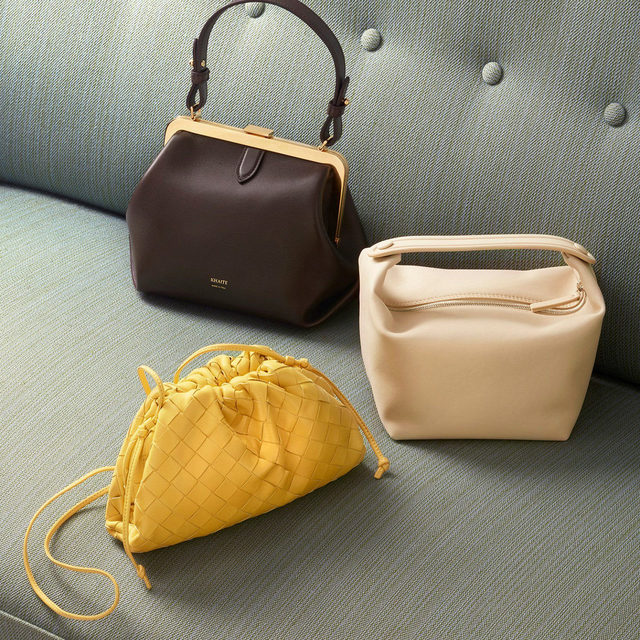 THE MINI BAG: Fun and frivolous, consider the mini bag the perfect finishing touch for every outfit, adding personality and flair to your look. Tap the link in bio to discover the mood-boosting powers of this season's must-have accessory