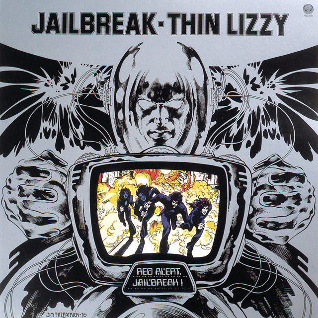 🌞Sunday Review: Today, we revisit  @thinlizzy's greatest album, one that embodies the myth and grandeur of classic rock. Read our review of Jailbreak by Thin Lizzy at the link in our bio.   #Pitchfork #ThinLizzy #ClassicRock