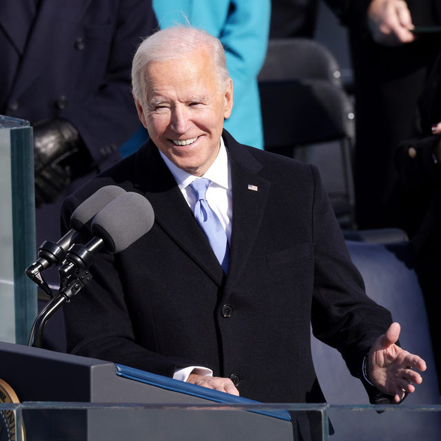 "Joseph R. Biden Jr. delivered his inaugural address today after being sworn in as the 46th president of the United States. Near the end of his speech, President Biden quoted lyrics from the Gene Scheer composition ""American Anthem,"" which he called his ""favorite song:""   Written by Scheer in 1998, ""American Anthem"" was first performed by Denyce Graves that year at the Smithsonian Institution during an event to launch Bill and Hillary Clinton's ""Save America's Treasures"" initiative. Graves performed the song again for George W. Bush's second inauguration in 2005. Later, Norah Jones further popularized ""American Anthem"" by covering it for Ken Burns' WWII documentary series The War. Learn more at the link in our bio.   📷  Alex Wong / Getty Images"