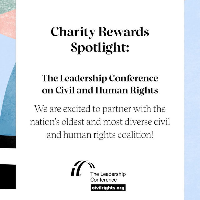 We are proud to partner with @civilrightsorg and bring you an opportunity to use your points for good—visit the Rewards Bazaar to redeem your Beauty Insider points for a Charity Reward, and we will donate to this amazing organization on your behalf. Mark your calendar for Wednesday, January 22, at 10am PT to learn more about The Leadership Conference on Civil and Human Rights on Instagram Live ⏰