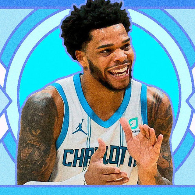 This week, staff writer @Alphonseeee found himself wondering if he liked Miles Bridges' tape because of how unexpected it was to hear an NBA player venture into such niche rap territory or because it's a legitimately good Michigan tape. He came up with a few questions to figure this out: Is Miles Bridges good at basketball? Are the punchlines funny? Do the beats work? Is he outshined by the guests? Would he listen to Up the Score if Bridges was not in the NBA? Find out the answers at the link in our bio.  🎨 by @drewknowitz  #MilesBridges #Rap #RapMusic #RapRoundup #NBA