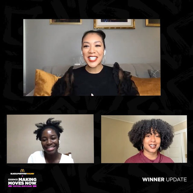 Checking in with our winners from the @mcdonalds Making Moves Now Pitch Competition in partnership with @essence. Watch founders of Plant-based braiding hair company, @lillianaugustahair and discuss how winning this competition is a gamechanger! Tap link in bio for more. Follow @wearegolden, to learn more about the Black & Positively Golden movement. #Linkinbio #ad #blackandpositivelygolden