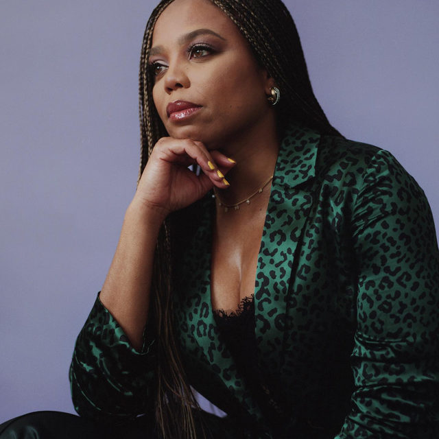 """""""Personally, I hope for what I always hope for, which is peace of mind. Professionally, I always hope for discomfort."""" Click the link in bio to read the Playboy Interview with @jemelehill, the Emmy-winning writer who could never just """"stick to sports"""" ✨  Photographed by @erik_carter  Interview by @kelleylcarter  @anitabonitaaaa"""