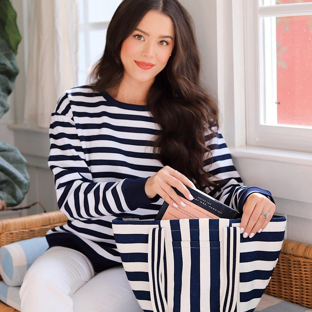 Match-y magic ✨ Pro tip: with classic stripes, more is more...