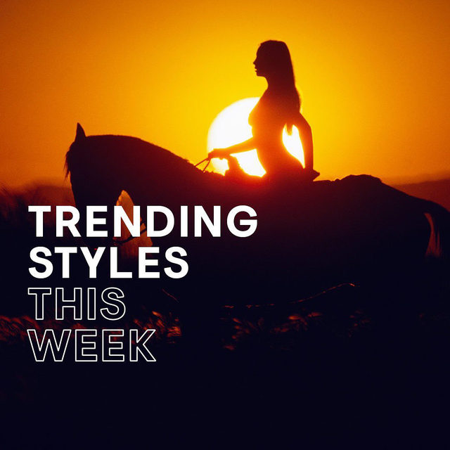 Find out what styles are trending this week at the link in bio 🔥