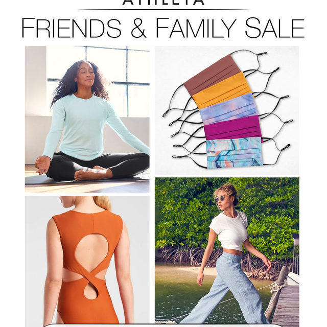 Athleta's Friends + Family Sale snuck right up on us…and we couldn't be happier about it. Head to the blog for our editors' top picks including activewear, athflow, loungewear, swimsuits + don't forget their face masks (which the kiddos + guys have been stealing away from us)  To access the sale, you either need to register to become an @Athleta Rewards Member (it's free!) or make sure you're logged in with the email address associated with your rewards account. If all else fails, get the app. . . . . . #Athleta #fashion #fashionblogger #athflow #activewear #swimwear #instafashion #sale #outfitdetails #clothing #discount #everydaystyle #dailyoutfit #fashioninspo #fashionlove  #cantwaittowear #whatiamwearing #stylegoals #fashionlooks #fashionedit #styleblogging #fashiondetails #fashionaddict #stylehunters #themomedit #TMEfashion
